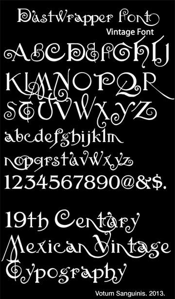 Dustwrapper-Mexican-Font