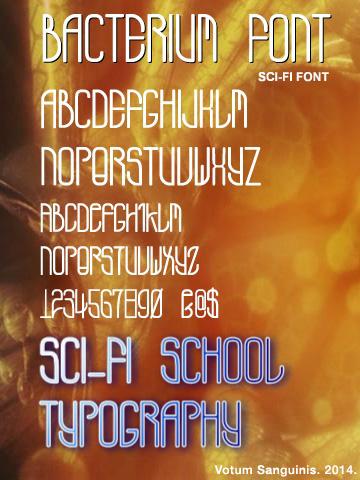 Bacterium-Font